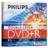 Philips (PHILIPS) DVD + R DL 8-скоростные двусторонние диски 8.5GB 10 Packed philips dvp285051 dvd плеер