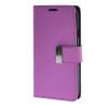 MOONCASE чехол для Samsung Galaxy E5 Flip Leather Wallet Card Slot Bracket Back Cover Purple