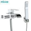 Micoe ванной кран настенный смеситель душевой Ванная комната смеситель для душа набор Водопад латунь душ Tap смеситель для душа