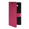 MOONCASE Slim Leather Side Flip Wallet Card Slot Pouch with Kickstand Shell Back чехол для Samsung Galaxy A7 Hot pink синий slim robot armor kickstand ударопрочный жесткий корпус из прочной резины для vivo x9plus