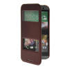 MOONCASE View Window Leather Side Flip Pouch Stand Shell Back ЧЕХОЛДЛЯ HTC One 2 (M8) Red mooncase view window leather side flip pouch stand shell back чехолдля htc one 2 m8 sapphire