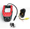1080P Ночная версия Novatek 96655 WIFI Автомобильный регистратор DVR Цифровой видеорегистратор Видеокамера Dash Camera APP Control Dual Lens видеорегистратор intego vx 410mr