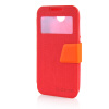MOONCASE View Window Leather Side Flip Pouch Ultra Slim Shell Back ЧЕХОЛДЛЯ HTC Desire 310 D310W Red чехол для для мобильных телефонов oem htc 310 d310w bling 3d htc 310 d310w for htc desire 310 d310w