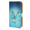 MOONCASE чехол для Huawei Ascend Y550 Pattern series Leather Flip Wallet Card Slot Stand Back Cover
