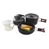 Красные лагеря на открытом воздухе горшки кемпинг наборы горшки посуда пикник кухонная утварь 2-3 комплекта комплектов чайных принадлежностей горшка