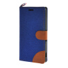 MOONCASE Xperia M4 , Leather Wallet Flip Card Holder Pouch Stand Back ЧЕХОЛ ДЛЯ Sony Xperia M4 Dark blue mooncase simple leather flip wallet card slot stand back чехол для sony xperia m4 aqua blue