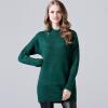 BURDULLY Мода Slim Turtleneck Свитера Пуловеры Женщины 2018 Весна Осень Вязаные Длинные Негабаритные свитера Женщины Пуловеры Топы