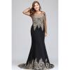 2018 с длинным рукавом плюс размер Русалка формальные платья | Платья вечерние с длинными рукавами платья с принтами