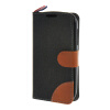 MOONCASE Alcatel One Touch POP C5 , Leather Flip Card Holder Pouch Stand Back ЧЕХОЛ ДЛЯ Alcatel One Touch POP C5 Black alcatel one touch pop 3 5025d silver