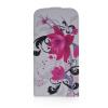 MOONCASE Цветочный стиль Кожа Нижняя Флип Чехол чехол для Samsung Galaxy I9600 S5 mooncase чехол