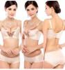 набор женщин лифчик увеличивающий лифчик установлены 6 цветов белье женщин сексуально лифчик женщины нижнее белье и размер бюстгальтера и колготки комплекс лифчик с двойным пушапом