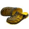 Рисунок Yue (TUYUE) Летний новый мужские сандалии и тапочки отверстие обувь мужчин сандалии случайные сандалии Баотоу сандалии желтый 40