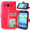 MOONCASE чехол для Samsung Galaxy S3/S3 Mini / S4/S4 Mini /S6 /S6 edge/ S6 edge Plus Фолио Флип Слот кожаный бумажник карты и складная подставка Feature крышки мешка samsung galaxy s4 mini