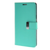 MOONCASE чехол для Samsung Galaxy A7 Flip Leather Wallet Card Slot Bracket Back Cover Green mooncase чехол для samsung galaxy core 2 ii duos g355h flip leather wallet card slot bracket back cover green