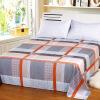 Ai Wei постельные принадлежности домашний текстиль двойные листы однослойные хлопковые одеяла 1,5 кровати / 1,8 кровати 230 * 250 (цвет сетки)