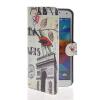 MOONCASE Scenic Design Leather Side Flip Wallet Card Slot Pouch Stand Shell Back ЧЕХОЛДЛЯ Samsung Galaxy S5 I9600 чехол для samsung galaxy s5 printio череп художник