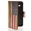 MOONCASE U.S American Flag Leather Side Flip Wallet Card Slot Stand Pouch чехол для Samsung Galaxy Star 2 Plus G350E samsung star 2 киев