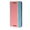MOONCASE Премиум Слот Синтетический кожаный бумажник флип чехол Чехол карты Стенд чехол для HTC One M9 розовый чехол