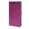MOONCASE Гладкая кожа PU кожаный чехол бумажник флип карты отойти чехол для LG AKA фиолетовый mooncase чехол