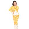 Женщины Коралловые руно капюшоном Кролик пижамы костюм Пижама Утолщенные Теплые ночной рубашке пижамы endo пижама