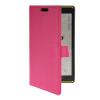 все цены на MOONCASE Slim Leather Flip Wallet Card Pouch with Kickstand Shell Back ЧЕХОЛДЛЯ Nokia Lumia 1520 Hot pink онлайн