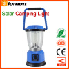 6 LED Camping Solar Portable Lights Outdoor Sports Flashlight Rechargeable Handy Light Mobile Phone USB Multifunctional Torchlight