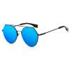 Солнцезащитные очки Женская мода Дизайнер 2017 Женские очки Цветные зеркальные линзы Очки Солнцезащитные очки для женщин Пальто 2289