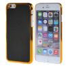 MOONCASE Litchi Skin золото Chrome Hard Back чехол для Cover Apple iPhone 6 (4.7) чёрный