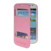 все цены на MOONCASE View Window Leather Side Flip Pouch Stand Shell Back ЧЕХОЛДЛЯ Samsung Galaxy Grand Duos i9080 i9082 Pink онлайн