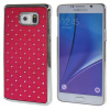 MOONCASE Samsung Galaxy Note 5 ЧЕХОЛ ДЛЯ Bling Chrome Hard Back Hot pink mooncase samsung galaxy note 5 чехол
