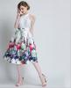 Lovaru ™ женские осенние 2015 новый цветок пояса талии юбки Туту юбки Hiqh доставленных женские юбки в розницу