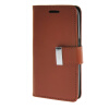 MOONCASE чехол для Samsung Galaxy Core 2 II Duos G355H Flip Leather Wallet Card Slot Bracket Back Cover Brown ecostyle shell чехол флип для samsung galaxy core duos i8262 white