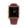 Sunshar DM08 умный часы Bluetooth кожа Смарт Часы с камерой IPS экран Водонепроницаемый для IOS iPhone Android смартфон (золото)