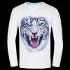 Causul Мужская одежда Night Wolf 3D животных Печатные майка Мужчины, черный хлопок Один-образным вырезом Slim Fit Хип-хоп Футболка Мужская одежда мужская футболка oem slim fit 2 2 no