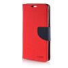 MOONCASE Cross pattern Leather Side Flip Wallet Card Slot Pouch Stand Shell Back ЧЕХОЛДЛЯ Samsung Galaxy A7 Red newsets cross texture wallet leather stand shell for iphone 7 red