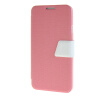 MOONCASE Galaxy Note 3 Neo N7505 , Leather Flip Bracket Back ЧЕХОЛ ДЛЯ Samsung Galaxy Note 3 Neo N7505 Pink White printio чехол для samsung galaxy note