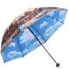 Jingdong [супермаркет] рай зонтик (UPF50 +) двойной ткани сложенный зонтик творческий зонтик 31807E модели S upf50 rashguard bodyboard al004