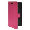 MOONCASE тонкий кожаный бумажник флип сторона держателя карты Чехол с Kickstand чехол для LG G Pro Lite D686 Ярко-розовый чехол для lg g pro lite dual d686 d684 силиконовый tpu прозрачный глянцевый 0 5 мм