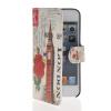 MOONCASE Scenic Design Leather Side Flip Wallet Card Slot Pouch Stand Shell Back ЧЕХОЛДЛЯ Apple iPhone 5 5S mooncase premium pu flip leather wallet card pouch back чехол для cover apple iphone 6 4 7 красный