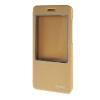 MOONCASE Huawei Honor 4X чехол Slim Window View Design Flip Leather Bracket Back чехол Cover Gold чехол для сотового телефона honor 5x smart cover grey