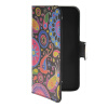 MOONCASE Flower style Leather Side Flip Wallet Card Slot Stand Pouch чехол для WIKO Barry luxury stand flip