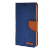 MOONCASE Galaxy Note 3 , Leather Flip Wallet Card Holder Pouch Stand Back ЧЕХОЛ ДЛЯ Samsung Galaxy Note 3 Dark blue printio чехол для samsung galaxy note