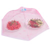 Верхняя распродажа обложки для стола с зонтиком для пищевых продуктов Складные сетчатые крышки для зонтов Anti Fly Москитная сетка Аксессуары для кухни