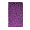 MOONCASE Cute Little Witch Leather Side Flip Wallet Card Holder Stand Pouch ЧЕХОЛДЛЯ Huawei Ascend Y360 Purple mooncase cute little witch leather side flip wallet card holder stand pouch чехолдля huawei ascend y625 purple