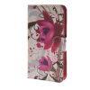 MOONCASE Flower style Leather Wallet Flip Card Slot Stand Pouch чехол для HTC Desire 620 A03 htc desire 650
