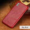 Фото Чехол из натуральной кожи для iPhone X Case Ostrich Texture Back Cover для 6 6S 7 8 Plus Plus Case gumai silky case for iphone 6 6s black