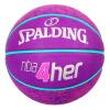 № 6 Женского баскетбольных подростки резинового Spalding SPALDING баскетбол крытый и открытый 83-051Y spalding spalding баскетбол открытый износ резины стандарт 7 кавальерс нба 83 218y