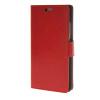 MOONCASE Гладкая кожа PU кожаный чехол бумажник флип карты отойти чехол для Huawei Ascend P8 Красный mooncase мягкая кожа pu бумажник флип карты отойти кожаный чехол для huawei ascend p8 red