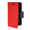 MOONCASE Classic cross pattern Leather Side Flip Wallet Card Pouch Stand Soft Shell Back чехол для Motorola Moto E Red mooncase slim leather side flip wallet card slot pouch stand shell back чехол для motorola moto droid turbo xt1254 azure