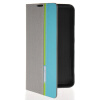 MOONCASE Business style Leather Side Flip Wallet Card Slot Pouch Stand Back чехол для Nokia Lumia 1320 Grey